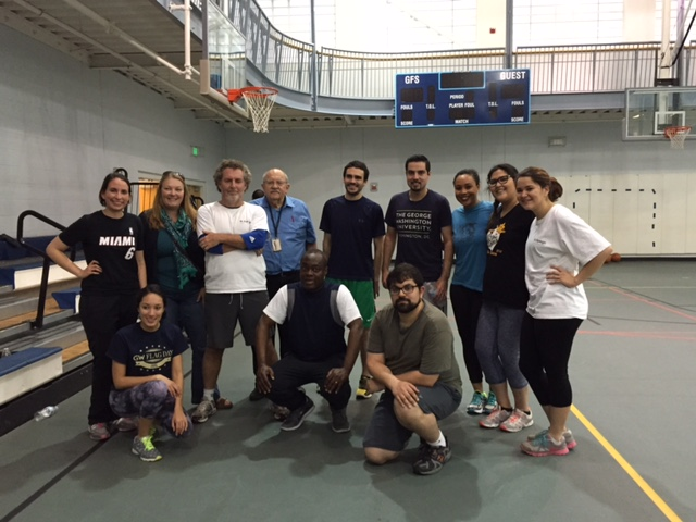 Jhpiego's team takes to the court in the Garrison Forest School's Give-N-Go fundraiser to support our work around the world.