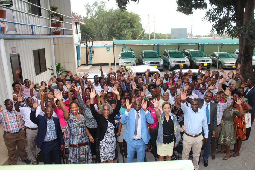 Jhpiego's field office in Tanzania offer thanks to  USAID Mission Director Sharon Cromer for a successful partnership.